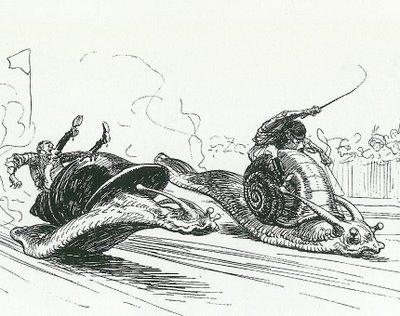 carrera de cargols