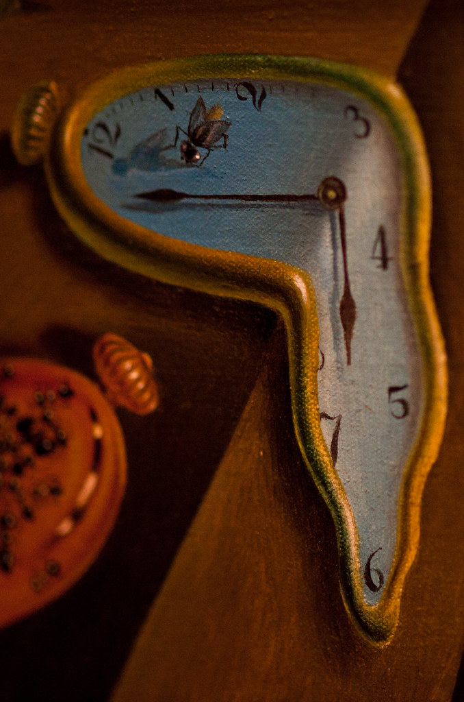 La persistència de la memòria, Salvador Dalí